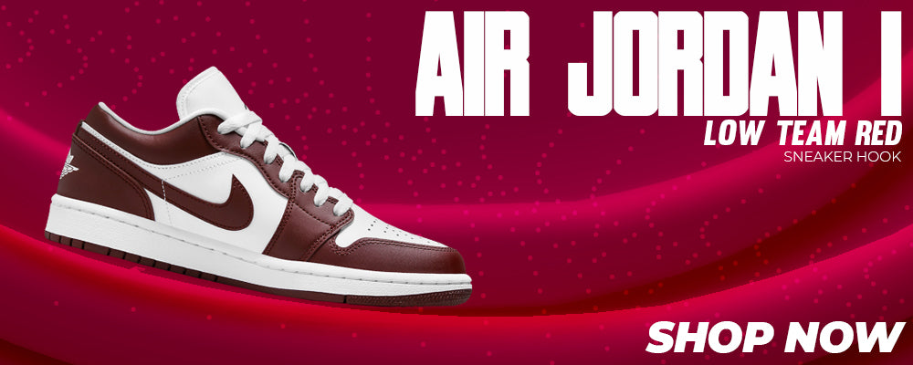 Air Jordan 1 Low Team Red Clothing to match Sneakers   Clothing to match Nike Air Jordan 1 Low Team Red Shoes