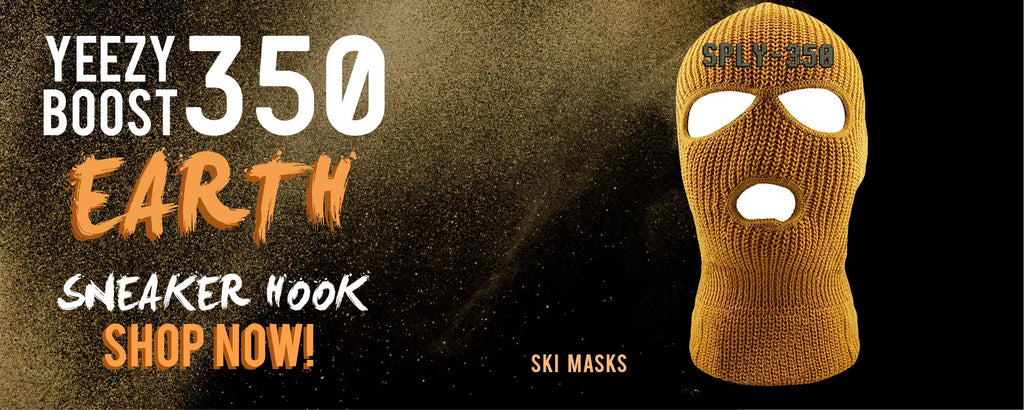 Yeezy Boost 350 V2 Earth | Ski Masks To Match Sneakers
