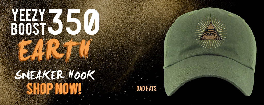 Yeezy Boost 350 V2 Earth | Dad Hats To Match Sneakers