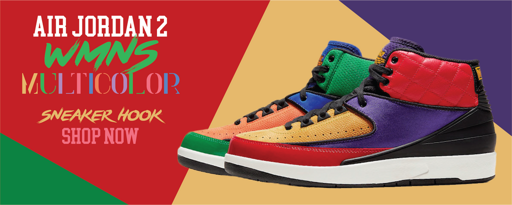 Jordan 2 WMNS Multicolor Clothing to match Sneakers | Clothing to match Air Jordan 2 WMNS Multicolor Shoes
