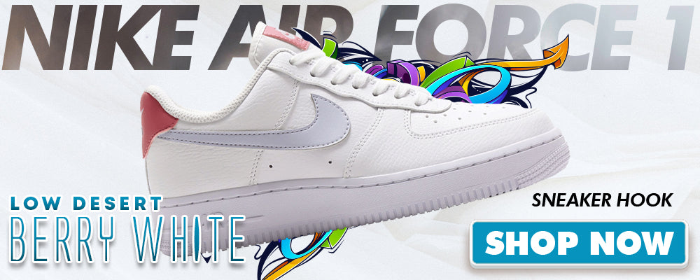 Air Force 1 Low Desert Berry White Clothing to match Sneakers | Clothing to match Nike Air Force 1 Low Desert Berry White Shoes