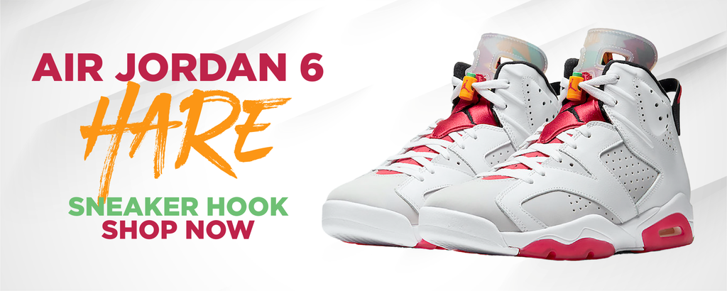 Air Jordan 6 Hare Clothing to match Sneakers | Clothing to match Nike Air Jordan 6 Hare Shoes