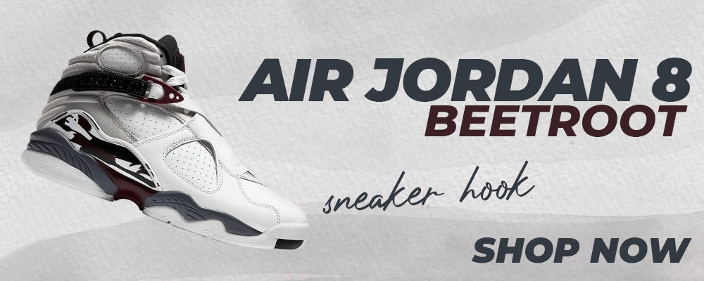 Air Jordan 8 Beetroot Clothing to match Sneakers | Clothing to match Nike Air Jordan 8 Beetroot Shoes