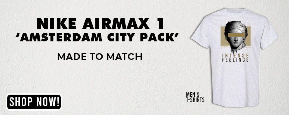 "Max 1 ""Amsterdam City Pack"" T Shirts to match Sneakers 