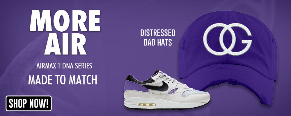 Air Max 1 DNA Series Distressed Dad Hats to match Sneakers | Hats to match Nike Air Max 1 DNA Series Shoes