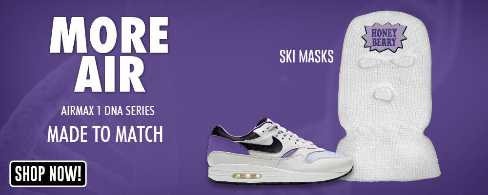 Air Max 1 DNA Series Ski Masks to match Sneakers | Winter Masks to match Nike Air Max 1 DNA Series Shoes