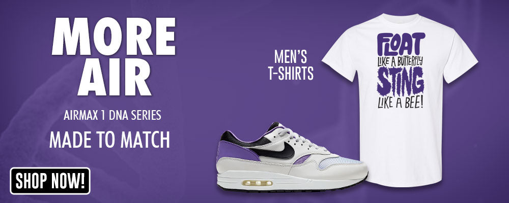 Air Max 1 DNA Series T Shirts to match Sneakers | Tees to match Nike Air Max 1 DNA Series Shoes