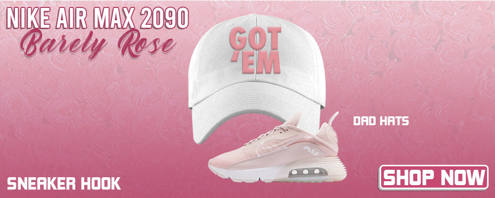 Air Max 2090 'Barely Rose' Dad Hats to match Sneakers | Hats to match Nike Air Max 2090 'Barely Rose' Shoes