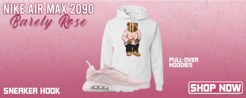Air Max 2090 'Barely Rose' Pullover Hoodies to match Sneakers | Hoodies to match Nike Air Max 2090 'Barely Rose' Shoes