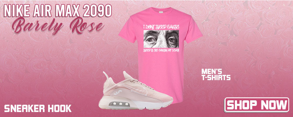 Air Max 2090 'Barely Rose' T Shirts to match Sneakers | Tees to match Nike Air Max 2090 'Barely Rose' Shoes