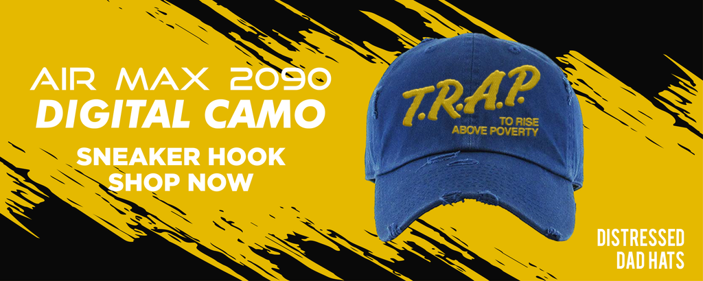 Air Max 2090 Digital Camo Distressed Dad Hats to match Sneakers | Hats to match Nike Air Max 2090 Digital Camo Shoes