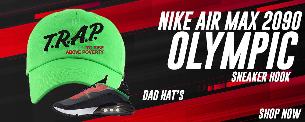 Air Max 2090 Olympic Dad Hats to match Sneakers | Hats to match Nike Air Max 2090 Olympic Shoes