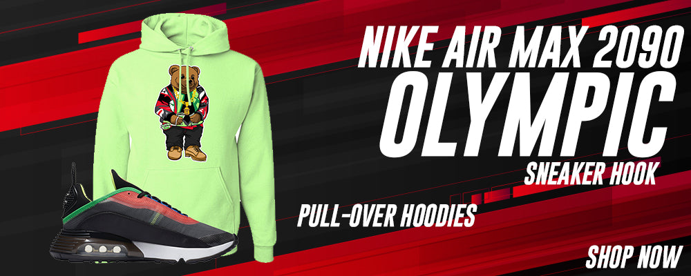 Air Max 2090 Olympic Pullover Hoodies to match Sneakers | Hoodies to match Nike Air Max 2090 Olympic Shoes