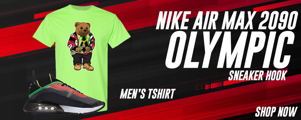 Air Max 2090 Olympic T Shirts to match Sneakers | Tees to match Nike Air Max 2090 Olympic Shoes