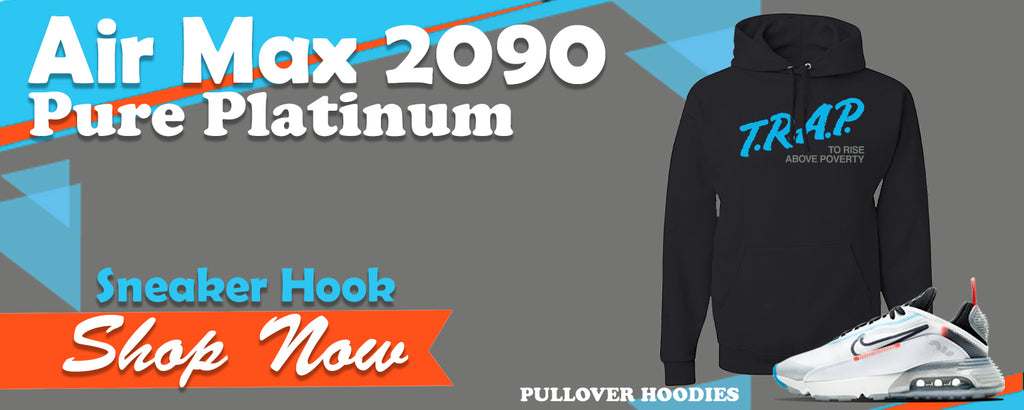 Air Max 2090 Pure Platinum Pullover Hoodies to match Sneakers | Hoodies to match Nike Air Max 2090 Pure Platinum Shoes