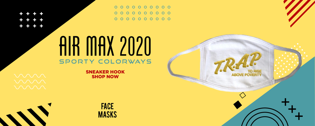 Air Max 2090 Sporty Colorways Face Mask to match Sneakers | Masks to match Nike Air Max 2090 Sporty Colorways Shoes