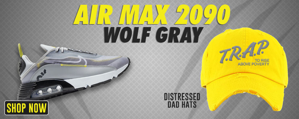 Air Max 2090 Wolf Grey Distressed Dad Hats to match Sneakers   Hats to match Nike Air Max 2090 Wolf Grey Shoes