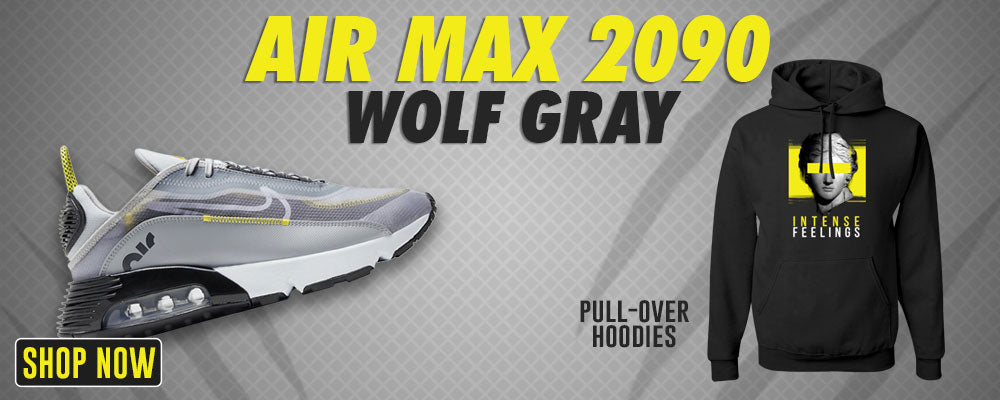 Air Max 2090 Wolf Grey Pullover Hoodies to match Sneakers   Hoodies to match Nike Air Max 2090 Wolf Grey Shoes