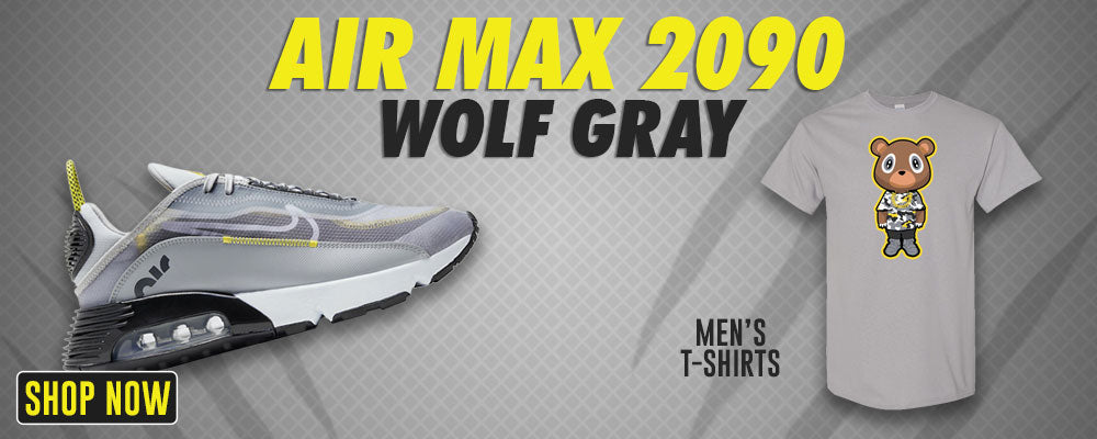 Air Max 2090 Wolf Grey T Shirts to match Sneakers   Tees to match Nike Air Max 2090 Wolf Grey Shoes