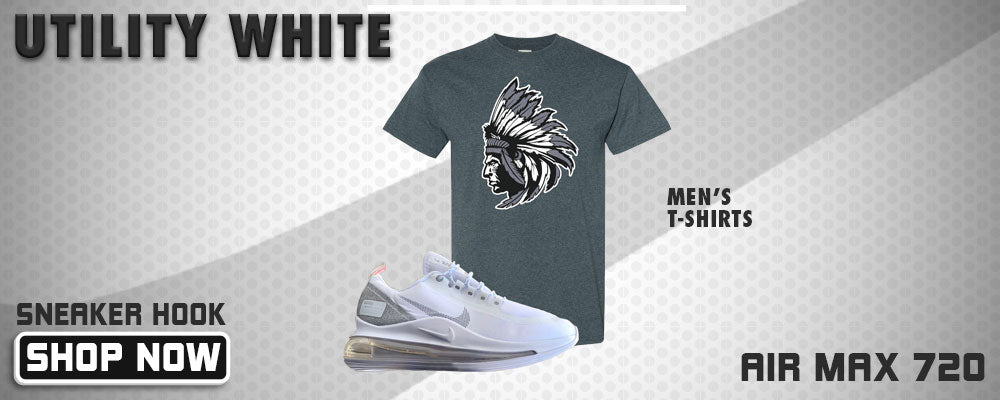 Air Max 720 Utility White T Shirts to match Sneakers | Tees to match Nike Air Max 720 Utility White Shoes