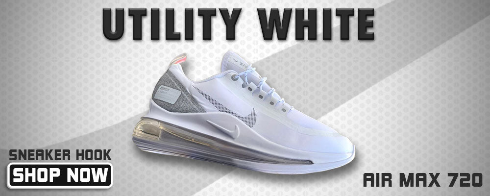 Air Max 720 Utility White Clothing to match Sneakers | Clothing to match Nike Air Max 720 Utility White Shoes