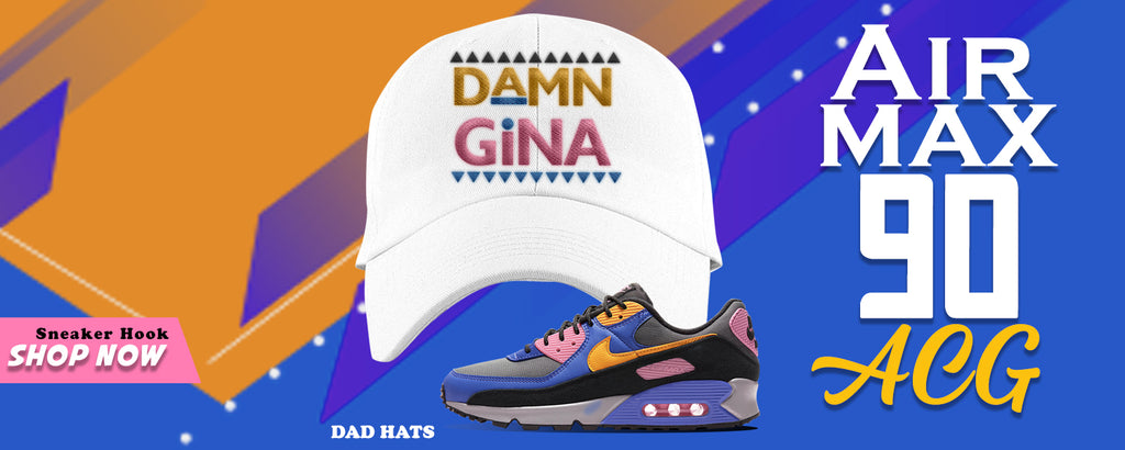 Air Max 90 ACG Dad Hats to match Sneakers | Hats to match Nike Air Max 90 ACG Shoes