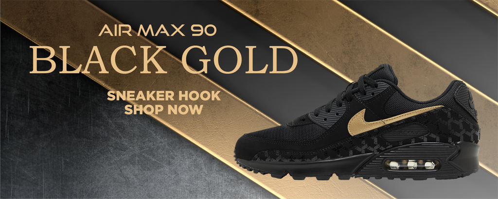 Air Max 90 Black Gold Clothing to match Sneakers | Clothing to match Nike Air Max 90 Black Gold Shoes