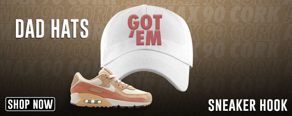 Air Max 90 Cork Dad Hats to match Sneakers | Hats to match Nike Air Max 90 Cork Shoes