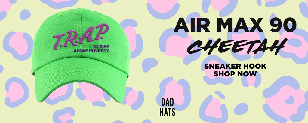 Air Max 90 Cheetah Dad Hats to match Sneakers | Hats to match Nike Air Max 90 Cheetah Shoes