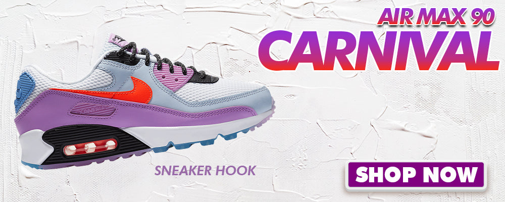 Air Max 90 Carnival Clothing to match Sneakers | Clothing to match Nike Air Max 90 Carnival Shoes