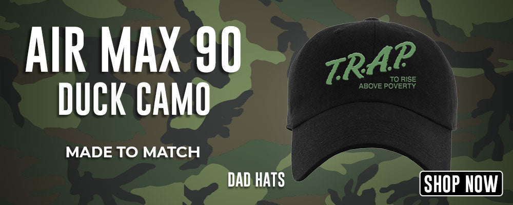 Air Max 90 Duck Camo Dad Hats to match Sneakers | Hats to match Nike Air Max 90 Duck Camo Shoes