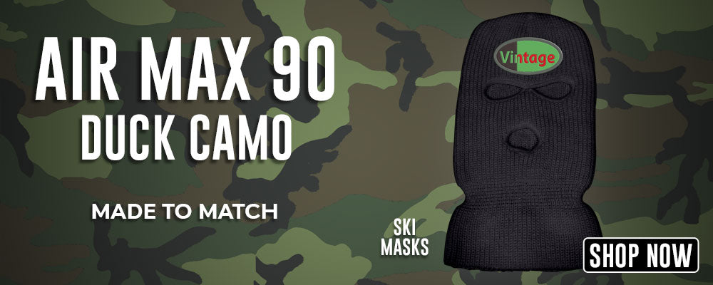 Air Max 90 Duck Camo Ski Masks to match Sneakers | Winter Masks to match Nike Air Max 90 Duck Camo Shoes