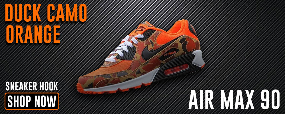 Air Max 90 Duck Camo Orange Clothing to match Sneakers | Clothing to match NIke Air Max 90 Duck Camo Orange Shoes