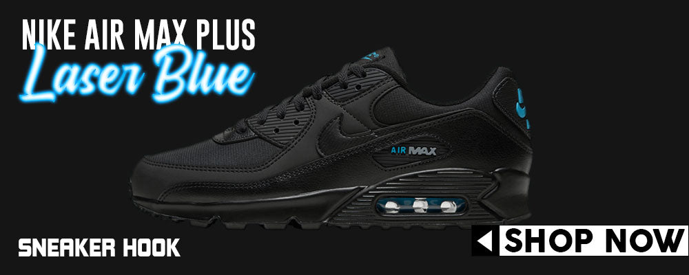 Air Max 90 Laser Blue Black Clothing to match Sneakers | Clothing to match Nike Air Max 90 Laser Blue Black Shoes