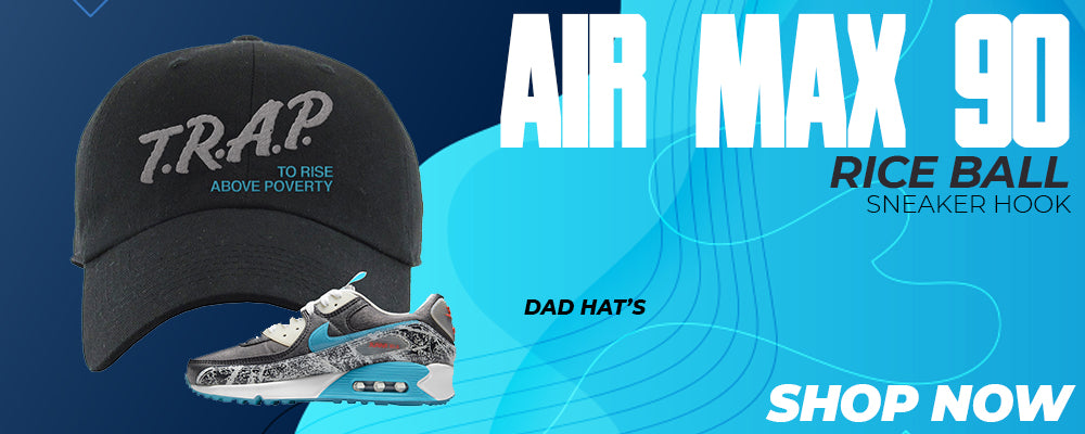 Air Max 90 Rice Ball Dad Hats to match Sneakers | Hats to match Nike Air Max 90 Rice Ball Shoes