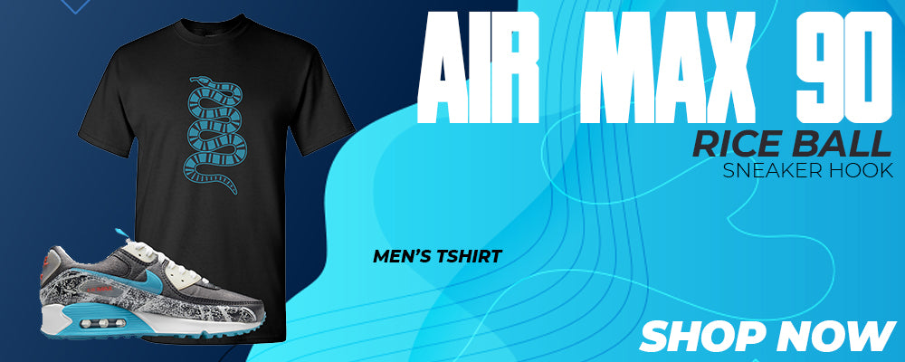 Air Max 90 Rice Ball T Shirts to match Sneakers | Tees to match Nike Air Max 90 Rice Ball Shoes