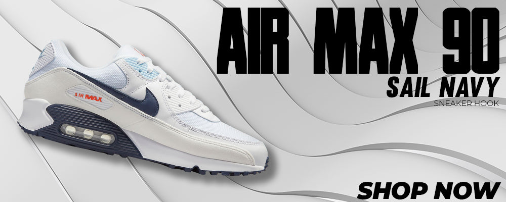 Air Max 90 Sail / Navy Clothing to match Sneakers | Clothing to match Nike Air Max 90 Sail / Navy Shoes
