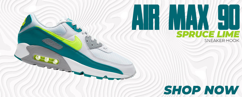 Air Max 90 Spruce Lime Clothing to match Sneakers | Clothing to match Nike Air Max 90 Spruce Lime Shoes
