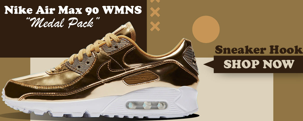 Air Max 90 WMNS 'Medal Pack' Gold Clothing to match Sneakers | Clothing to match Nike Air Max 90 WMNS 'Medal Pack' Gold Shoes