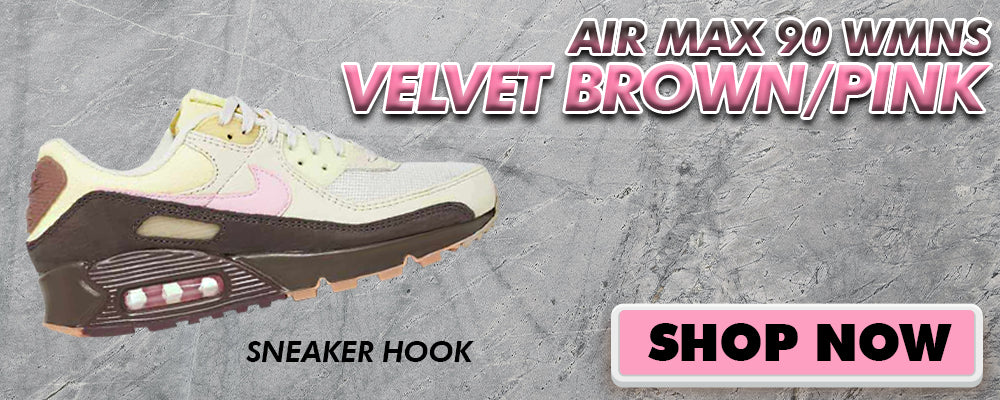 Air Max 90 WMNS Velvet Brown / Pink Clothing to match Sneakers | Clothing to match Nike Air Max 90 WMNS Velvet Brown / Pink Shoes
