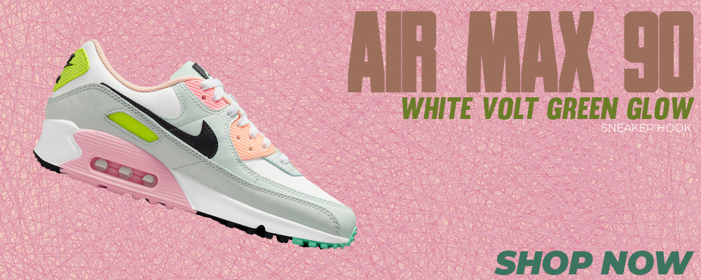 Air Max 90 White Volt Green Glow Clothing to match Sneakers | Clothing to match Nike Air Max 90 White Volt Green Glow Shoes