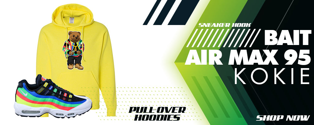 Air Max 95 Kokie Pullover Hoodies to match Sneakers | Hoodies to match Nike Air Max 95 Kokie Shoes
