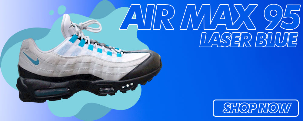 Air Max 95 Laser Blue Clothing to match Sneakers | Clothing to match Nike Air Max 95 Laser Blue Shoes