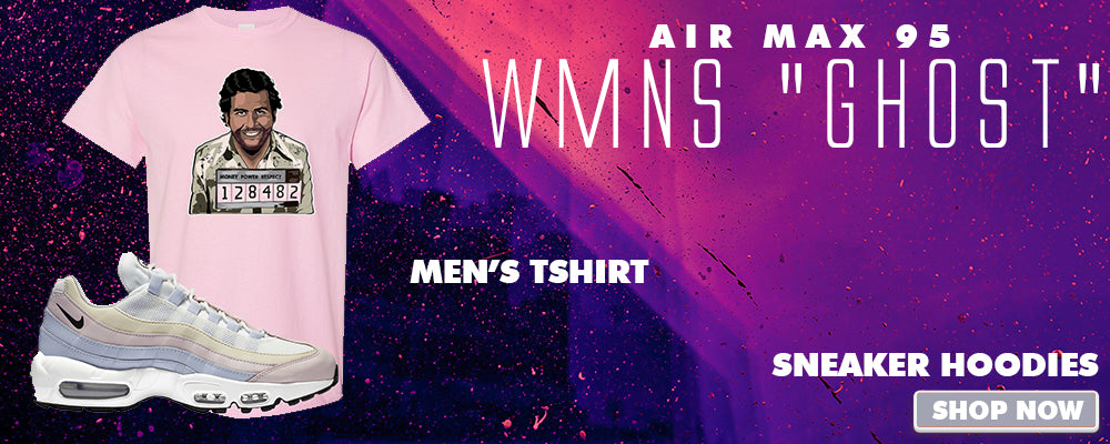 Air Max 95 WMNS Ghost T Shirts to match Sneakers   Tees to match Nike Air Max 95 WMNS Ghost Shoes
