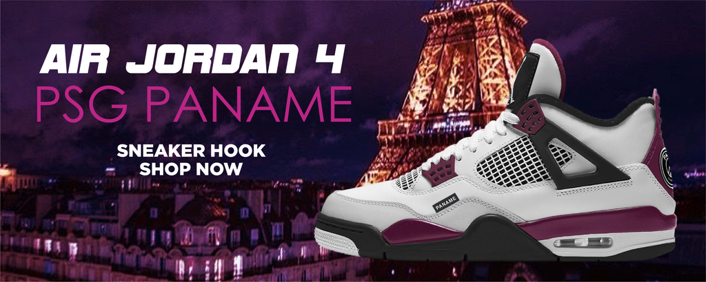 Air Jordan 4 PSG Paname Clothing to match Sneakers | Clothing to match Nike Air Jordan 4 PSG Paname Shoes