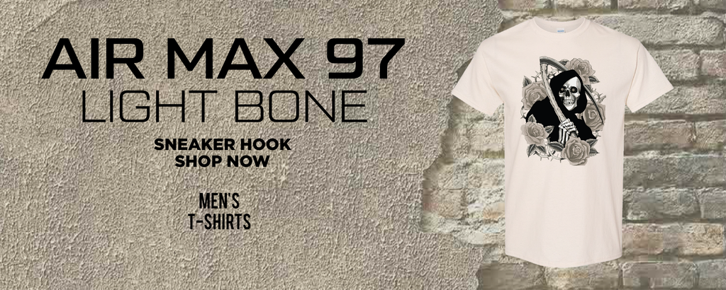 Air Max 97 Light Bone T Shirts to match Sneakers   Tees to match Nike Air Max 97 Light Bone Shoes