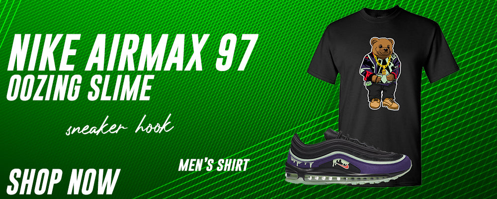 Air Max 97 Oozing Slime T Shirts to match Sneakers | Tees to match Nike Air Max 97 Oozing Slime Shoes