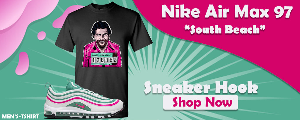 Air Max 97 'South Beach' T Shirts to match Sneakers | Tees to match Nike Air Max 97 'South Beach' Shoes