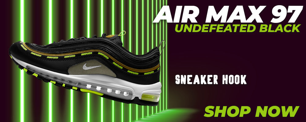 Air Max 97 UNDEFEATED Black Clothing to match Sneakers | Clothing to match Nike Air Max 97 UNDEFEATED Black Shoes