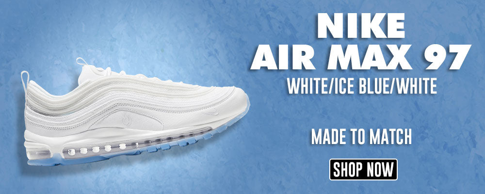 Air Max 97 White Ice Blue White Clothing To Match Sneakers